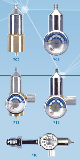 Alcohol Detection Systems >> CALGAZ 700 Series Regulator | Paralos Tech SA
